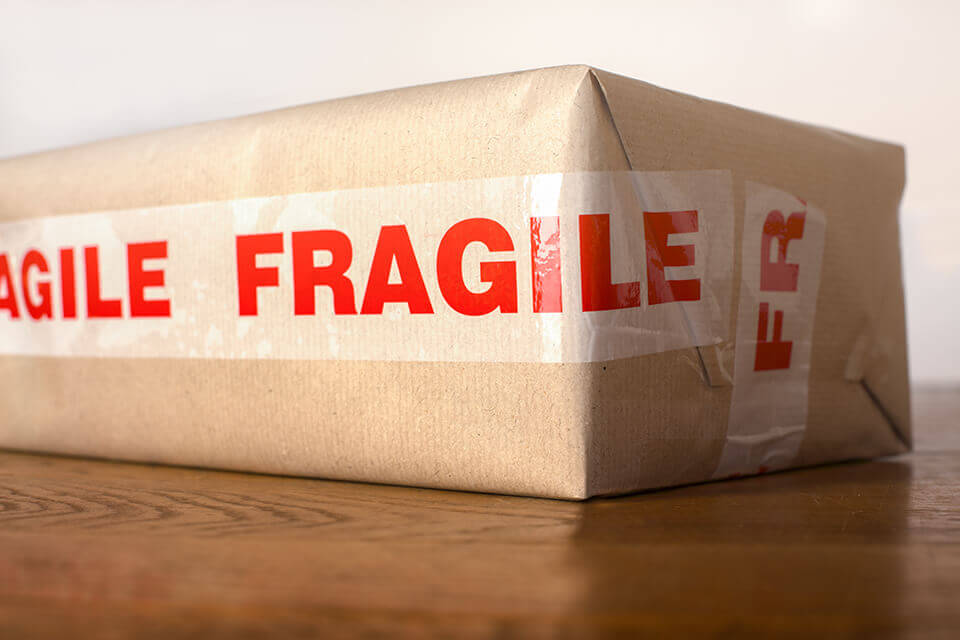 A fragile package